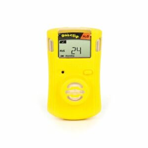 Gas Clip Sgc h Personal Single Gas Detector H2s 2 Year New