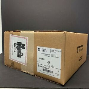 2018 New Sealed Allen Bradley 2711pc t10c4d8 Panelview Plus Compact 1000 Touch