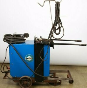 Miller Econo Twin Hf Constant Current Ac dc Power Source Welder