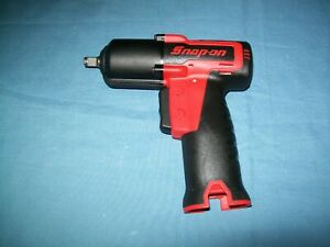 New Snap on Lithium Ion Ct761db 14 4volt 3 8 Drive Cordless Impact Wrench Nos