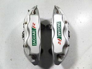 03 05 Jaguar S Type R Brembo Front Brake Calipers 67k Miles Left Right 4pot Xjr