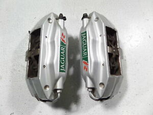 03 05 Jaguar S Type R Brembo Rear Brake Calipers 67k Miles Left Right 4pot Xjr