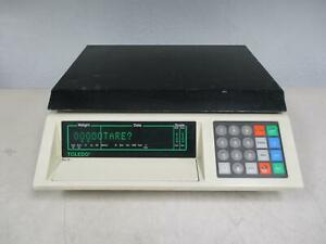 Toledo Scale 8582 Counting Scale Cap 25 Lbs T105666