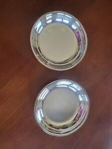 Small Silver Bowls Set Of 2 Made By Wm Rogers 37 7 In Diameter