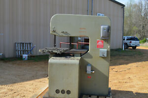 Doall Model 3613 1 Vertical Band Saw 220 440 Vac 3 Phase