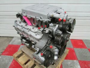 2011 Corvette Zr1 Ls9 6 2l Long Block Engine Supercharger Lingenfelter 710 Hp