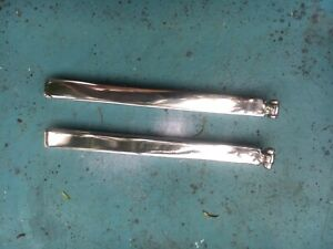 Two 1939 1940 1941 Cadillac Lasalle Window Flipper Convertible Coupe Pair