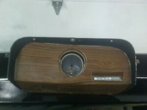 Vintage 1969 70 Ford Mustang Mach 1 Dash Clock Bezel Panel Used