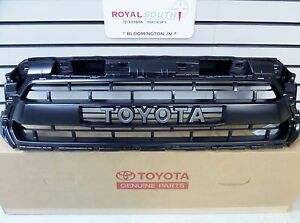 Toyota Tacoma 12 15 Trd Pro Matte Black Grille W Painted Surround Genuine Oem