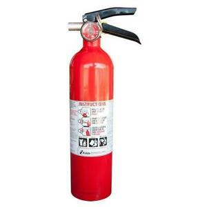 Kidde Vehicle Abc Dry Chemical Fire Extinguisher 2 5 Lb inspection Tag Included