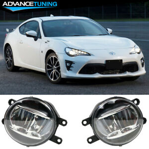 Universal Toyota Cars Oe Style Bumper Fog Lights Lamps Kit Clear Lens