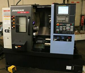 Doosan Lynx 220a Cnc Turning Center With Ats Ec 565 Barfeeder