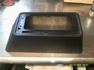 B m Black Plastic Console Made By B m Rat Rod Street Rod Hot