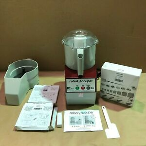 Robot Coupe R2 Dice Continuous Feed Combination Food Processor 3 Quart Bowl