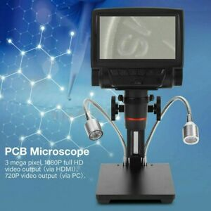 Professional Remote Control 1080p Microscope Magnifier For Soldering Pcb Repair