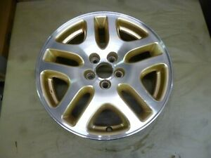 2000 2004 Subaru Legacy 16 Machined And Gold Wheel Hollander 68710