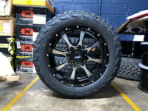 20x9 Moto Metal Mo970 Black Wheels Rims 32 At Tires 6x5 5 Chevy Suburban Tahoe