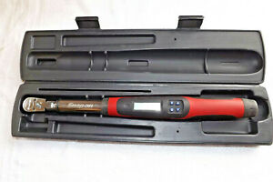 Snap On 3 8 Drive Electronic Torque Wrench Tech2fr100 W Case Instructions
