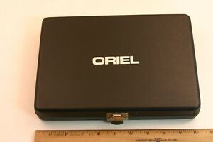 Oriel Lens Case Six Padded Compartments Well Made 5 Plus 3 Padded Cases