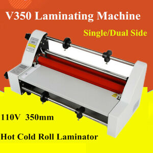 Hot Cold Roll Laminator Laminator Digital Display Single dual Side Lamination
