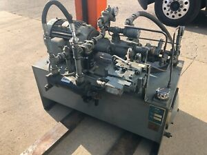 15 Hp Vickers Hydraulic Power Unit
