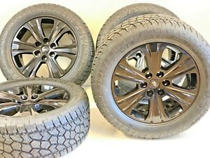 20 Ford F150 Expedition Set 4 04 19 Black Factory Oem Wheels Rims Tires At R