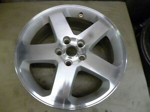 2008 2010 Dodge Charger 18 Machined And Silver Wheel Hollander 2327