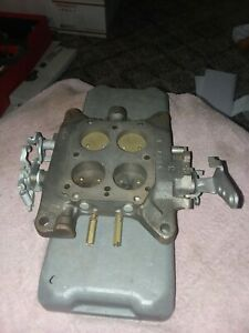 1957 61 Chevrolet Corvette 2x4 Dual Quad Front Carb Base 1387b