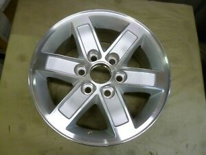 2007 2013 Gmc Sierra 1500 17 Machined And Silver Wheel Hollander 5296