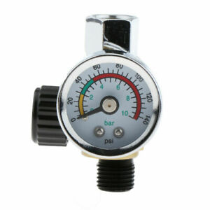 For Devilbiss iwata Spray Air Control Pressures Gauge Compressor Regulator New