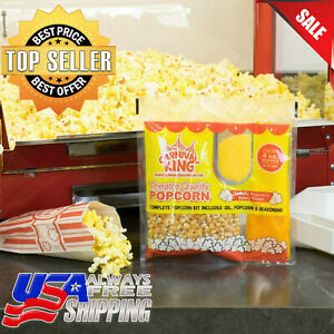 24 case Carnival King All in one Popcorn Kit For 4 Oz Popper Ready To Use Pop