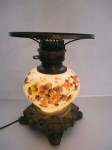 Vintage Hand Painted Gwtw Electric Lamp Base