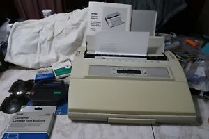 Sears electronic Graduate I Electric Typewriter With Ribbons print Wheels corr