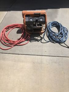 Ridgid 4 5gal Air Compressor Portable Used Local Pickup Only With 2 50ft Hoses