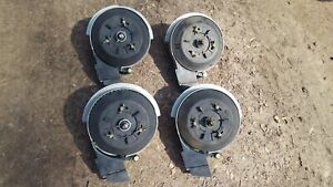 4 Radial John Deere Soybean Brush Meters 7200 7300 Planter Jd Kinze 1700 Series