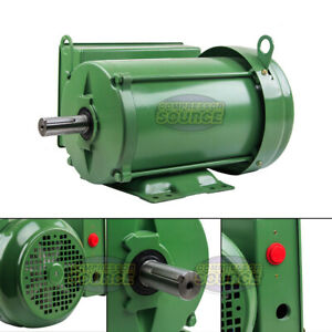 3 Hp Farm Duty Single Phase Electric Motor 1800 Rpm 184t Frame Tefc 208 230 Volt