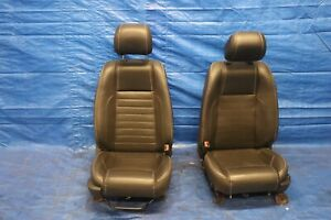 2012 Ford Mustang Gt 5 0 V8 Coyote Oem Leather Lh Rh Front Seat Wear 1221