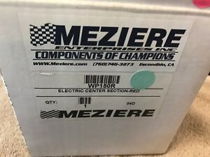 Meziere Wp150r Water Pump Electric Center Section In Red 16 Volt Systems