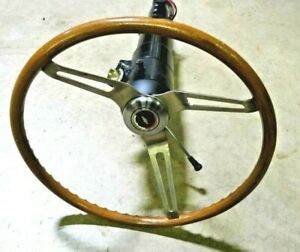 1972 Chevy Chevelle Working Steering Column Oem