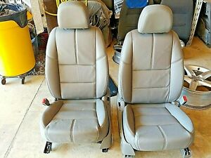 17 Oem Chevrolet Impala Front Driver passenger Tan Leather Seats Rear Available