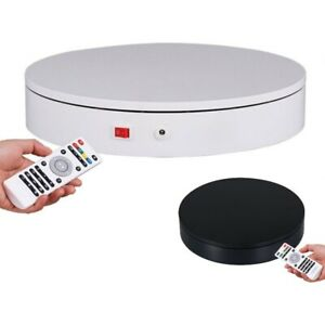 Rotating Photography Display Stand Smart Remote Control Degree Table Platform