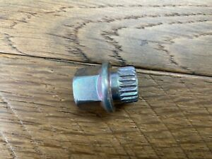Bmw Mini Wheel Lock Key 19 Spline Free Ship Genuine Lost Your Wheel Lock