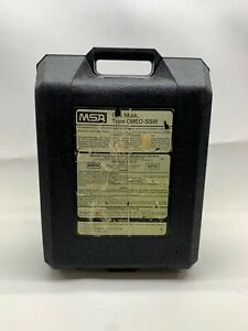 Msa Gas Mask Gmeo ssw Carrying Case Only Protective Locking 7 1 2 X 18 X 12