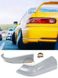 Rear Bumper Fangs Type R Lip For Honda Integra Acura Dc2 Dc1 Line Side Aprons