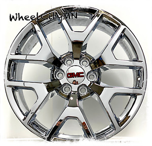 20 Inch Chrome 2015 2016 Gmc Sierra 1500 Denali Oe Replica Y 5656 Wheels 6x5 5