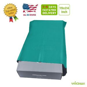 8 19 X 24 Inch 2 5 Mil Poly Mailers Shipping Envelopes Packaging Bags Green
