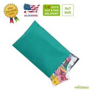 0 5 X 7 Inch 2 5 Mil Poly Mailers Shipping Envelopes Packaging Bags Green