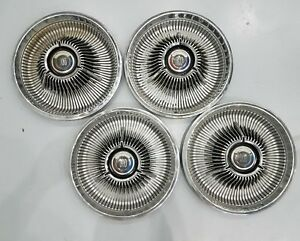 1967 67 1968 68 Chrysler 300 14 Inch Wheel Hubcaps Mopar Oem Set Of 4