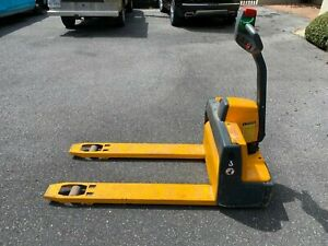Multiton Electric Pallet Jack 3000 Lbs Capacity Variable Speed
