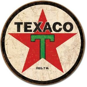 Texaco Motor Oil Co Vintage Style Metal Signs 12 Garage Man Cave Decor